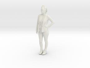 Printle C Femme 128 - 1/20 - wob in White Natural Versatile Plastic