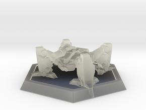 Mecha- Arachnid II (1/937th) in Transparent Acrylic