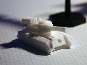 Terran Main Battle Tank in White Natural Versatile Plastic