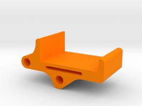 M10 camera mount for Realacc X210 Pro frame in Orange Processed Versatile Plastic