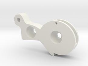 ROTJ Left Rear Greeble in White Natural Versatile Plastic