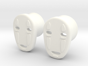 "5/8"" Noh Face in White Processed Versatile Plastic"