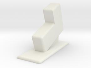 Glock 23 Gen 4 Holster High Density in White Natural Versatile Plastic