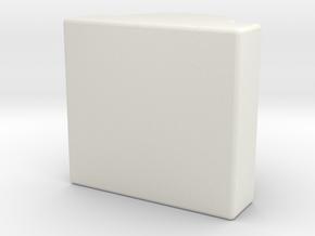 AEG 4mm nub in White Natural Versatile Plastic