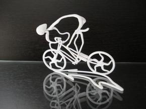 Cycling Race in White Natural Versatile Plastic