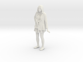 Printle C Femme 185 - 1/43 - wob in White Strong & Flexible