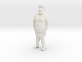 Printle C Femme 192 - 1/43 - wob in White Strong & Flexible