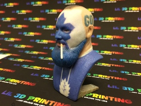 Dart Guy - Bust in Full Color Sandstone