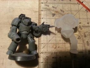 Schwerer Tauch-bot / Heavy Dive-bot (6mm ball) 03 in Frosted Ultra Detail