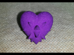 Heartspikes in Purple Processed Versatile Plastic