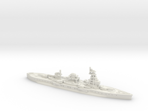 IJN Settsu 1/700 (WWII) in White Natural Versatile Plastic