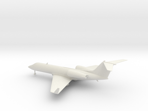 Gulfstream G-IV (G400) in White Natural Versatile Plastic: 1:160 - N