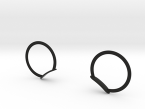 MICKEY RING EARS FOR  DASHBOARD in Black Natural Versatile Plastic: Medium