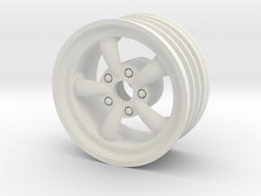 Front SRB EMPI 5 spoke wheel in White Natural Versatile Plastic