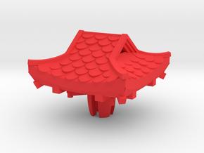 One Sillar Pagoda - vietnam pagoda - Cherry MX key in Red Strong & Flexible Polished: Small