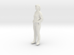 Printle C Femme 203 - 1/43 - wob in White Natural Versatile Plastic