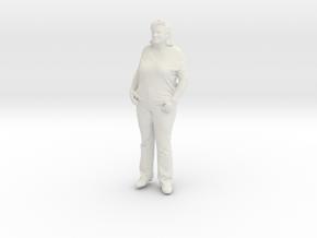 Printle C Femme 210 - 1/64 - wob in White Natural Versatile Plastic