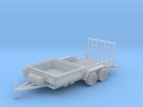 Dump Trailer Short 1-87 HO Scale in Smooth Fine Detail Plastic