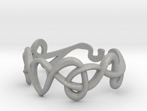 Art nouveau ring  in Aluminum: 7 / 54