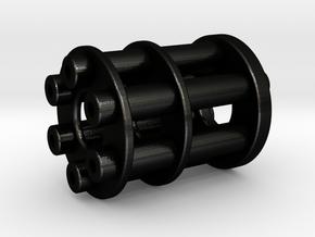Mini Barrel in Matte Black Steel