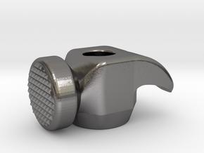 Waffle Hammer Head in Polished Nickel Steel
