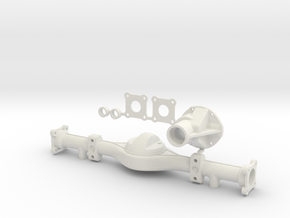 Hilux Rear Axle Top Leaf Attachment in White Natural Versatile Plastic