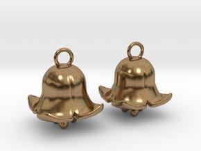 Belling in Interlocking Raw Brass: Medium