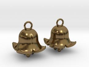 Belling in Polished Bronze (Interlocking Parts): Medium