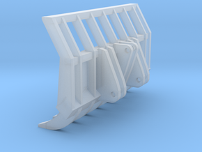 1:50 Root rake for 963D track loader.  in Smooth Fine Detail Plastic