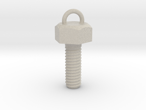 Hex Bolt in Sandstone