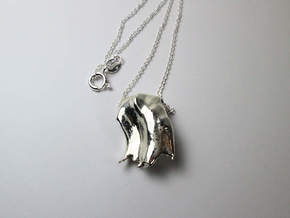 Consciousness Pendant in Polished Silver