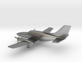 Cessna 402C Utiliner / Businessliner in Natural Silver: 1:144
