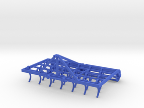Cultivator 1/32 Model in Blue Processed Versatile Plastic