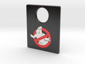 Pinball Plunger Plate - Spooky 6 in Glossy Full Color Sandstone