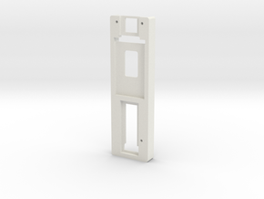 DNA75 Color DNA75C Mounting Plate in White Strong & Flexible