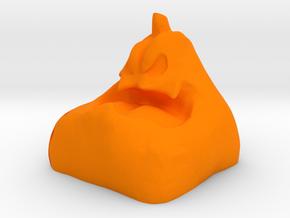 keycap Mr.pumpkin DSA size - cherry MX in Orange Strong & Flexible Polished
