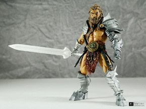 Champion blade for Mythic Legions in White Strong & Flexible