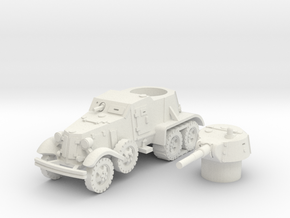 BA 36 with tracks (Soviet) 1/100 in White Natural Versatile Plastic