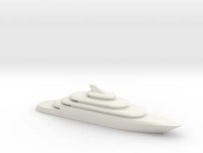 80m Yacht V2 in White Natural Versatile Plastic