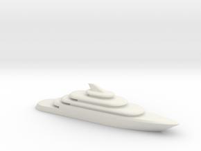 80m Yacht V2 in White Strong & Flexible