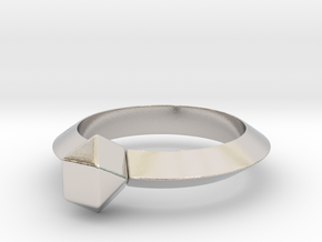 Kurtis - Ring in Rhodium Plated Brass: 6 / 51.5