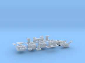 1/32 U-Boot VII C 41 Bow KIT in Smooth Fine Detail Plastic