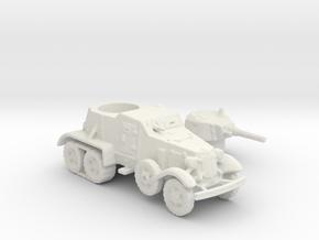 BA 36 with tracks (Soviet) 1/144 in White Natural Versatile Plastic