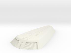 1/1000 Ingram Shuttle Bay in White Natural Versatile Plastic