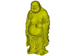 1/15 scale Gautama Buddha figure in Smooth Fine Detail Plastic