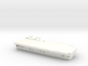 1/600 Scale HMS Invincible Stern in White Processed Versatile Plastic