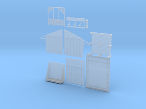 Nanya Shelter Shed (Type 2) in Smooth Fine Detail Plastic