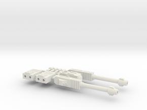 Alpha Lion's Full Weapon in White Natural Versatile Plastic
