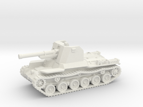 Ho Ni tank (Japan) 1/87 in White Strong & Flexible