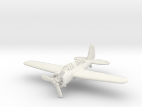 Brewster SBA scout bomber 1/200 in White Natural Versatile Plastic